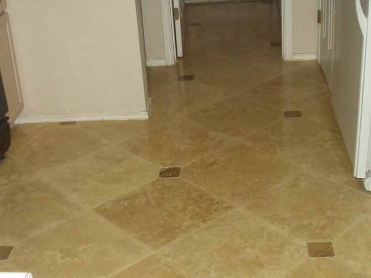 How to fix cracked flat tiles room