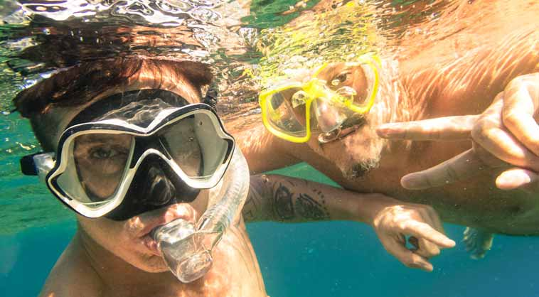Enjoy Snorkeling With Your Friends