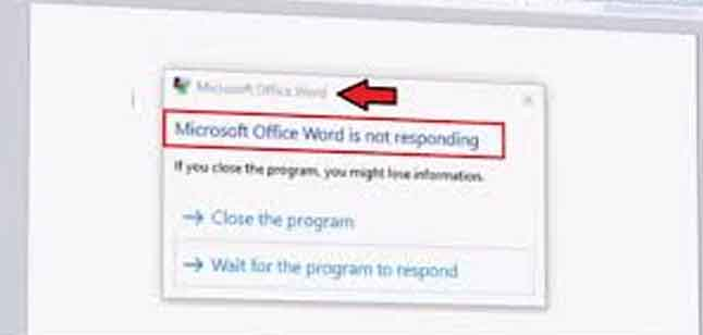 How to Fix Microsoft Word Hanging Problems