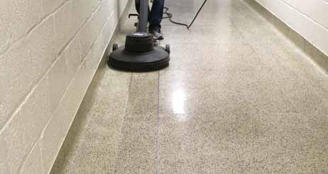 How to Clean the Terrazzo Flooring