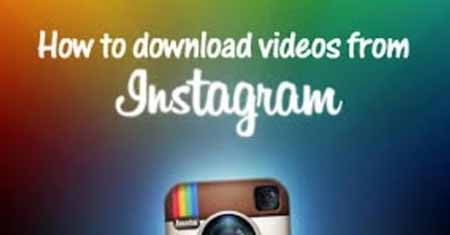 Copy a Video From Instagram