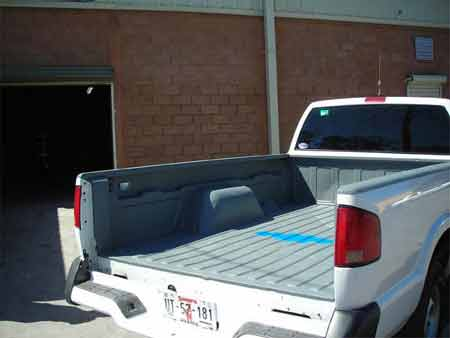 What does a truck bed liner mean