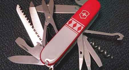 regular pocket knife
