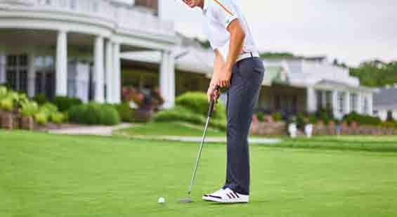 Practice these tricks with an experienced golfer or coach until you are confident that you can do them correctly