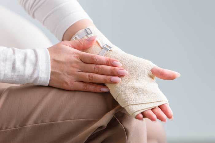 What are crepe bandages and how do they work