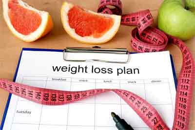 What is weight loss percentage