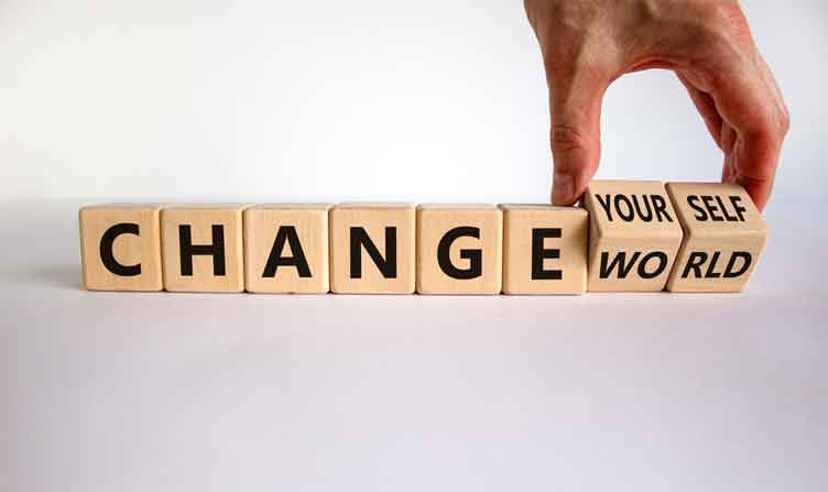 The Importance of Changing Yourself for the Better