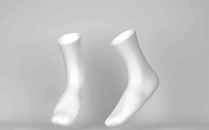 wearing-compression-socks